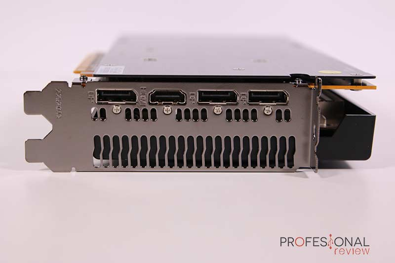 PowerColor Red Dragon Radeon RX 5600 XT Puertos