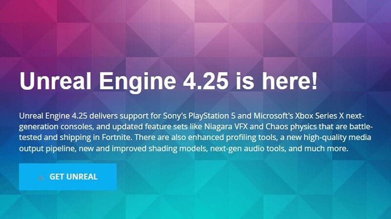 Unreal Engine 4.25