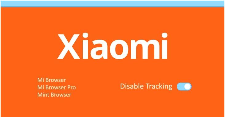 Xiaomi Mi browser app