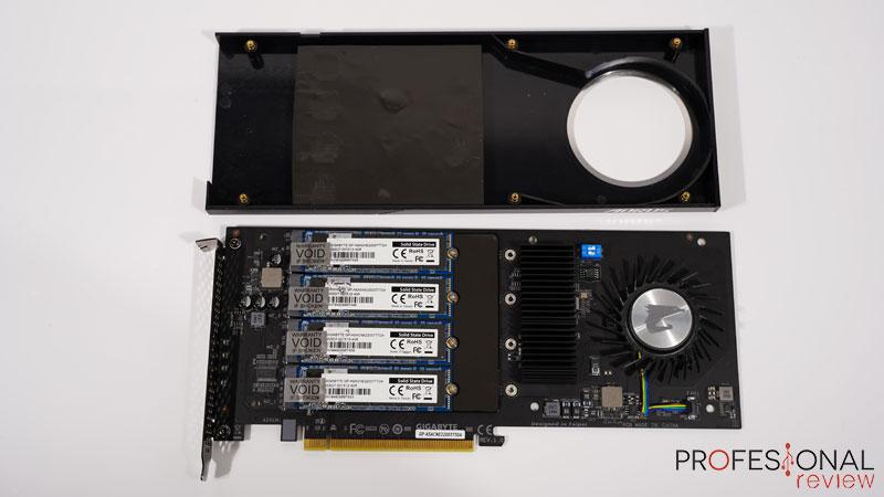 AORUS RAID SSD 2TB Interior