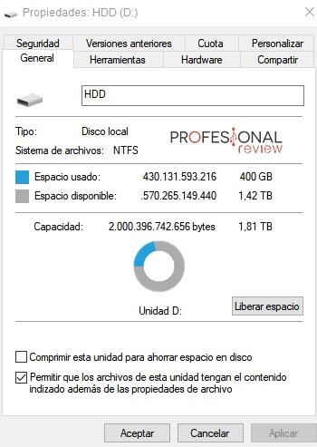 limpieza archivos disco duro