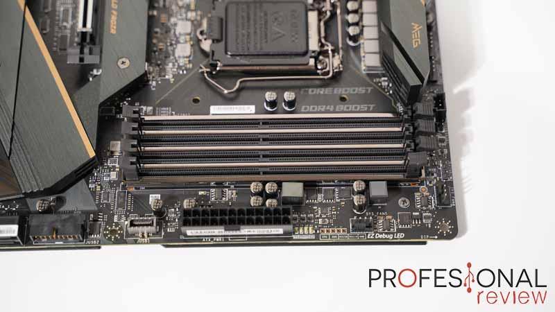 MSI MEG Z490 ACE RAM