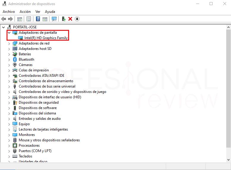 No me detecta la segunda pantalla paso11
