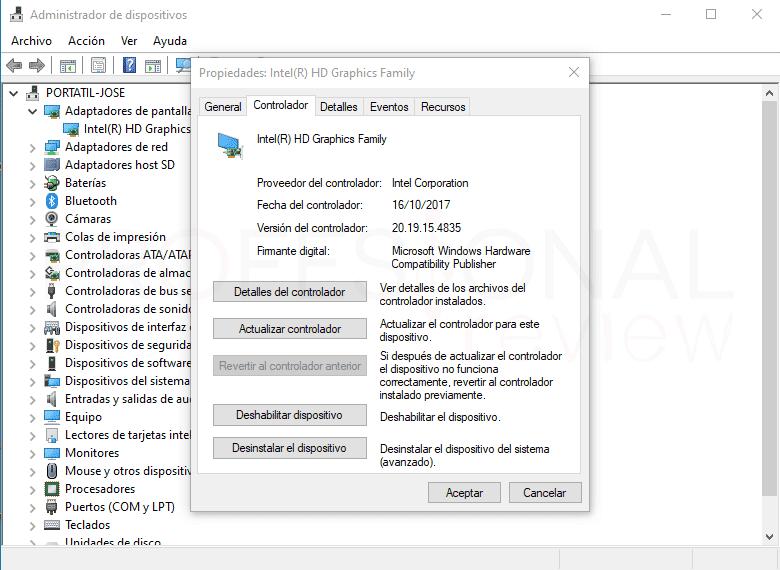 No me detecta la segunda pantalla paso12