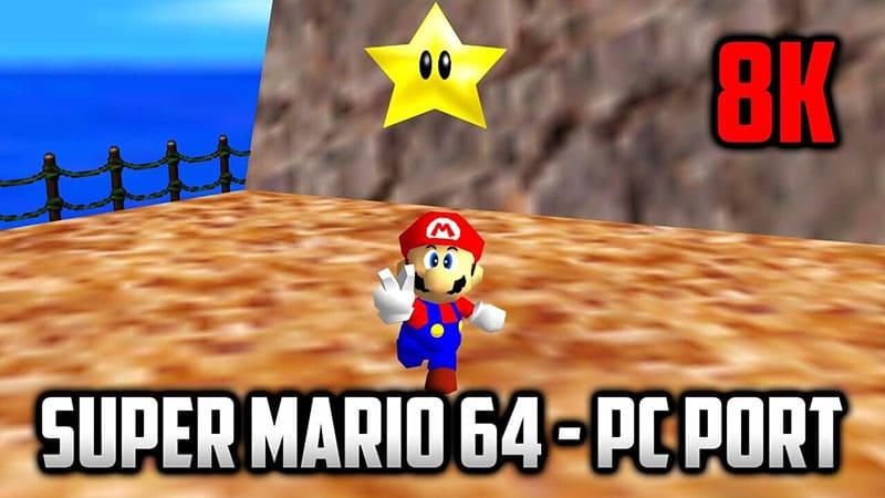 port pirata de Super Mario 64