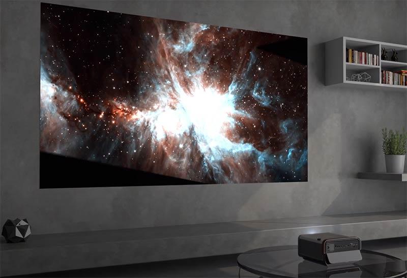Proyector como TV o cine en casa