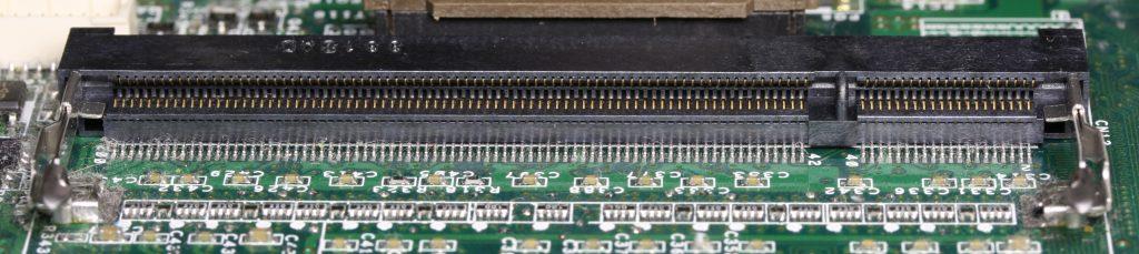 DDR SO-DIMM slot