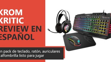 Photo of Krom Kritic RGB Rainbow Gaming Kit Review en Español (análisis completo)