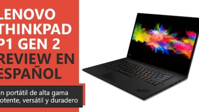 Photo of Lenovo Thinkpad P1 Gen 2 Review en Español (análisis completo)