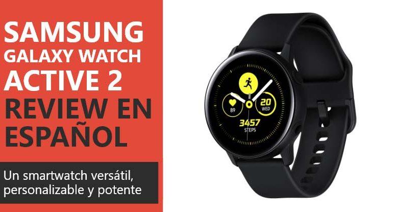 Photo of Samsung Galaxy Watch Active 2 Review en Español (análisis completo)