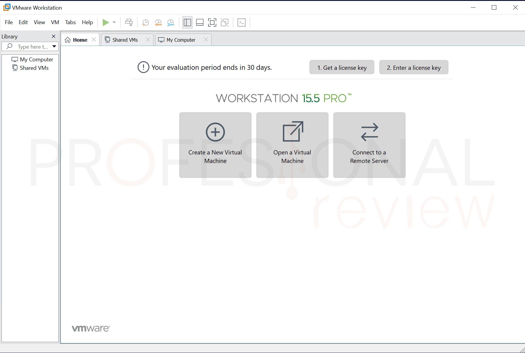VMware máquina virtual paso07