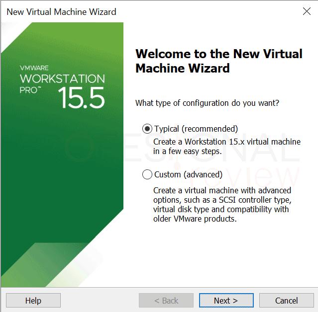 VMware máquina virtual paso09