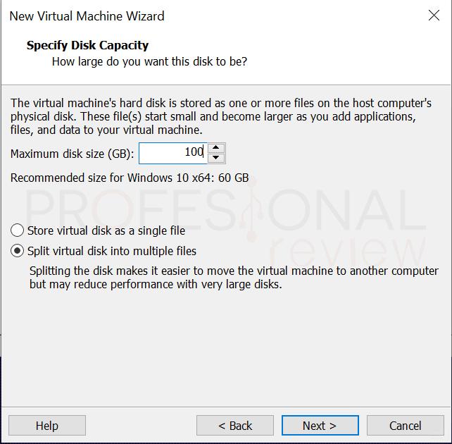 VMware máquina virtual paso11