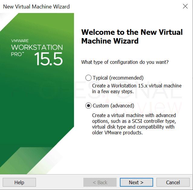 VMware máquina virtual paso13