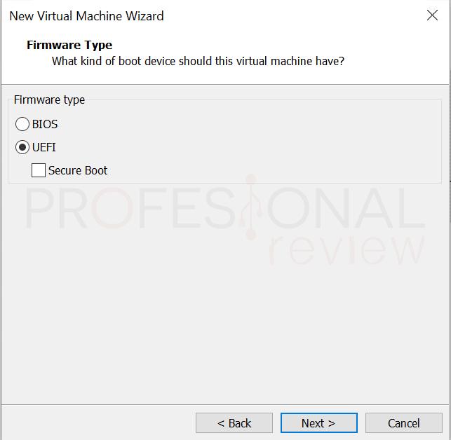 VMware máquina virtual paso14