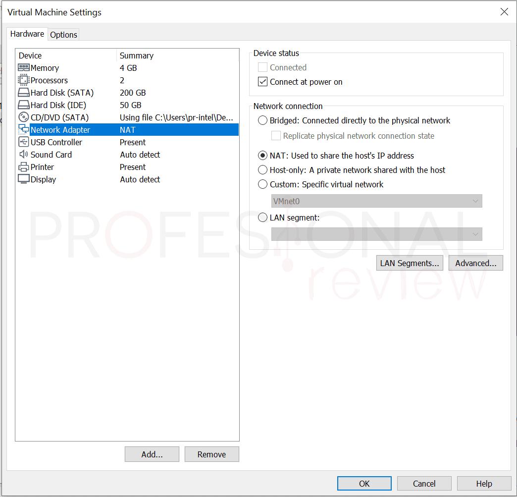 VMware máquina virtual paso34