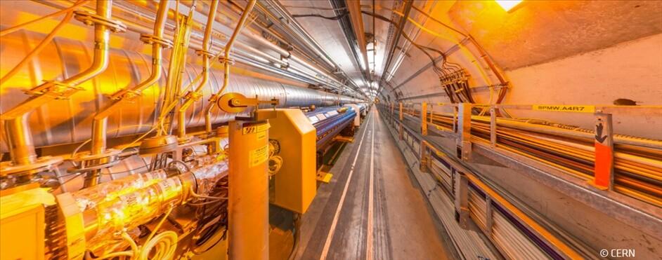 AMD y CERN acelerador partículas