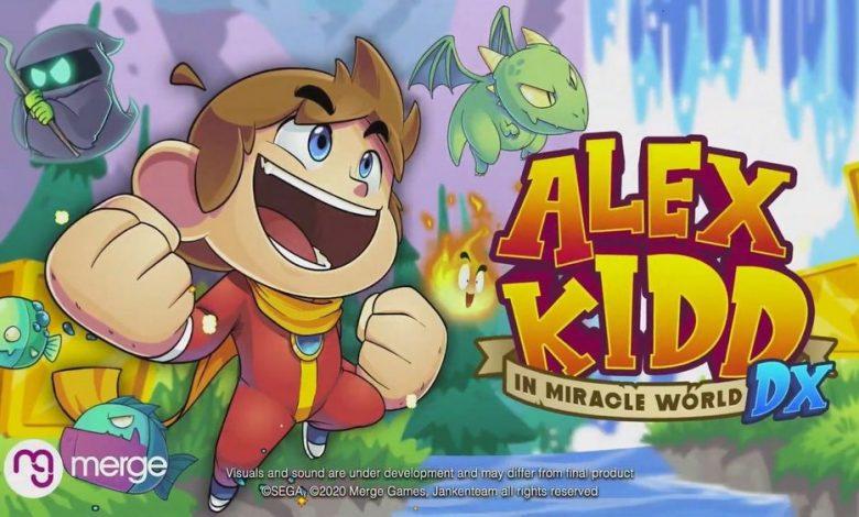 Photo of Alex Kidd In Miracle World DX, el clasico de Sega llega a PC y consolas