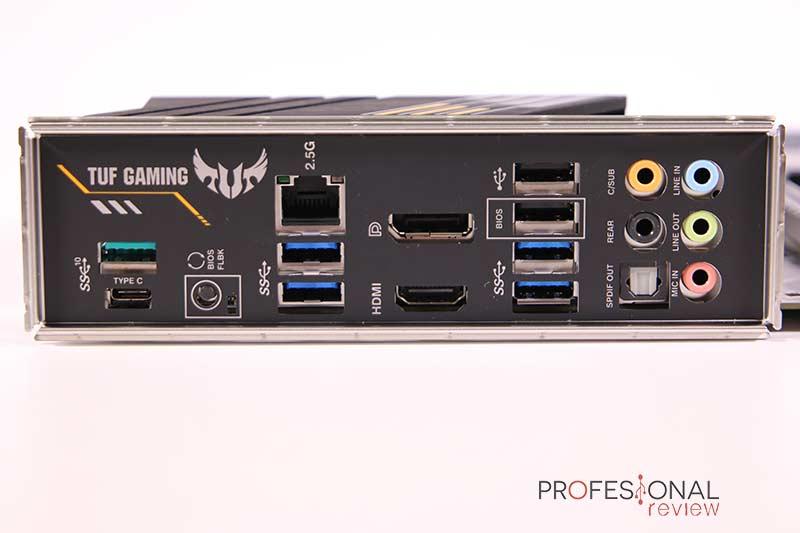 Asus TUF Gaming B550-Plus USB