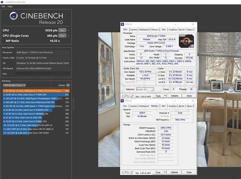 Asus TUF Gaming B550-Plus Overclocking