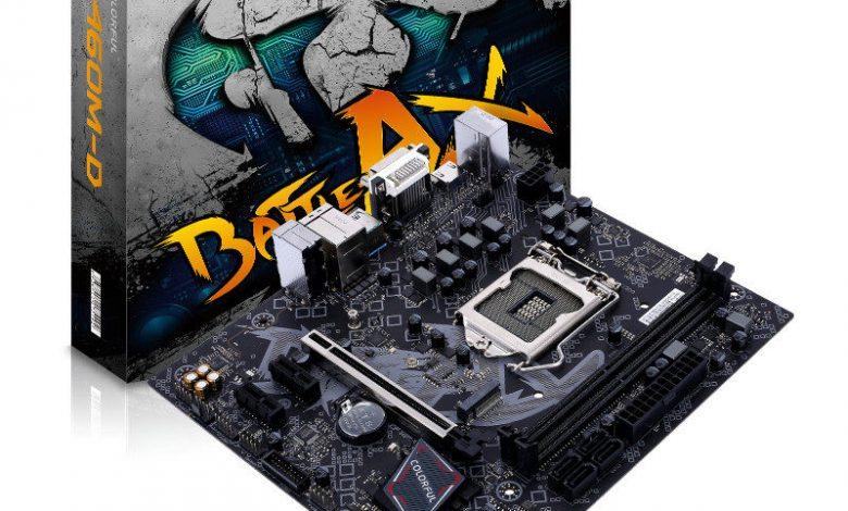 Photo of Colorful lanza su nueva serie de placas base Intel B460