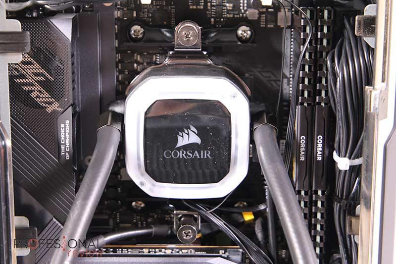 Corsair ONE a100 Refrigeración