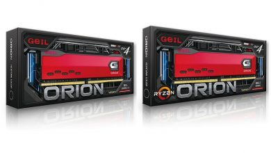 Photo of GeIL anuncia el lanzamiento de la memoria DDR4 de la serie ORION
