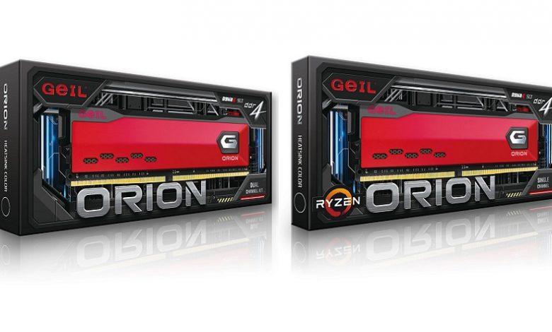 Photo of GeIL anuncia el lanzamiento de la memoria DDR4 de la serie ORION