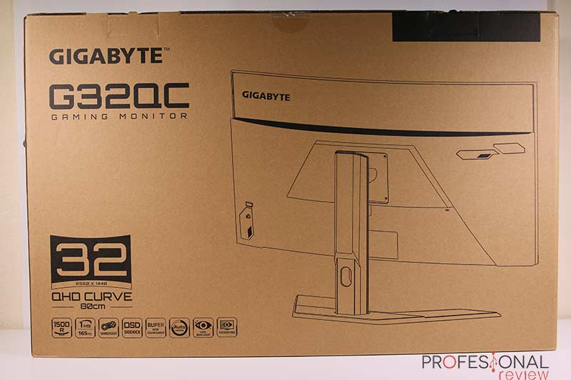 Gigabyte G32QC Review