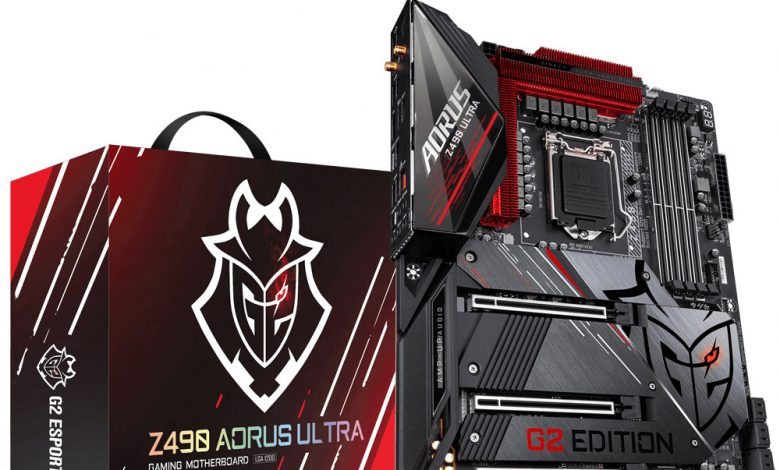 Photo of Gigabyte Z490 Aorus Ultra G2, nueva placa base para el eSports