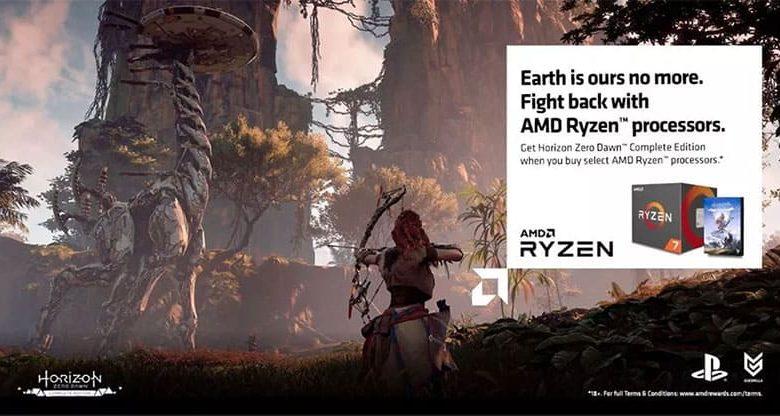 Photo of Horizon Zero Dawn gratis con la compra de CPUs AMD Ryzen