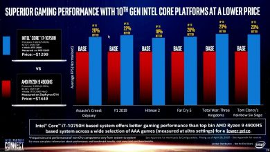 Photo of Intel manipula una comparativa sobre los portátiles Core vs Ryzen
