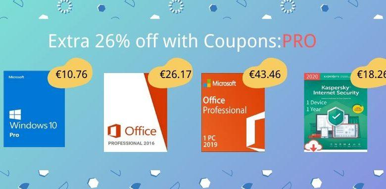 Photo of Licencias de Windows 10 y Office muy baratas  (Hasta 26% descuento)