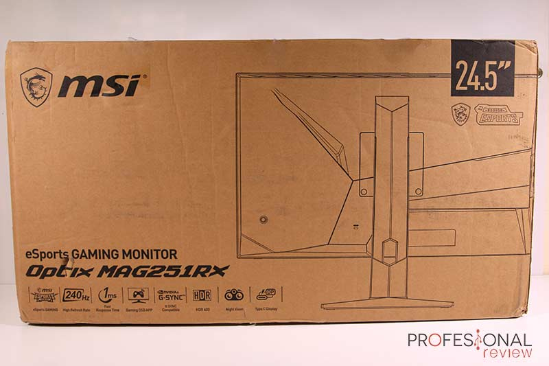 MSI Optix MAG251RX Review