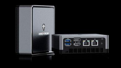 Photo of Minisforum DeskMini DMAF5 con CPU Ryzen pinta como un 'NUC Killer'