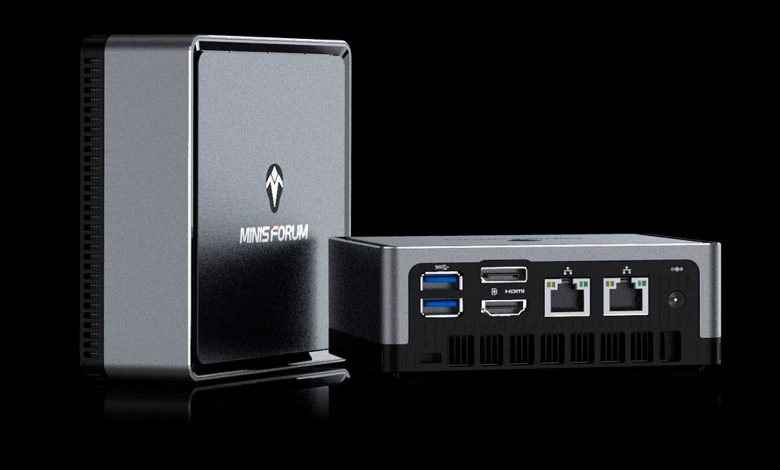 Photo of Minisforum DeskMini DMAF5 con CPU Ryzen pinta como un 'NUC Killer'