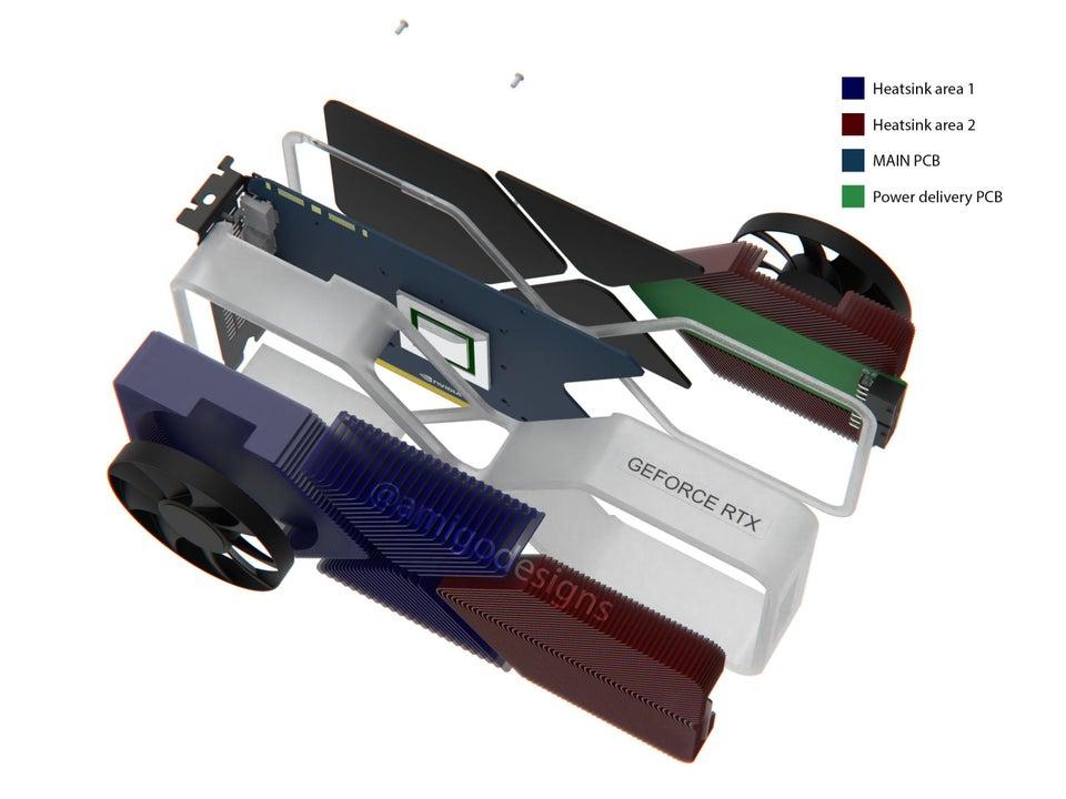 NVIDIA disipador rtx 3080