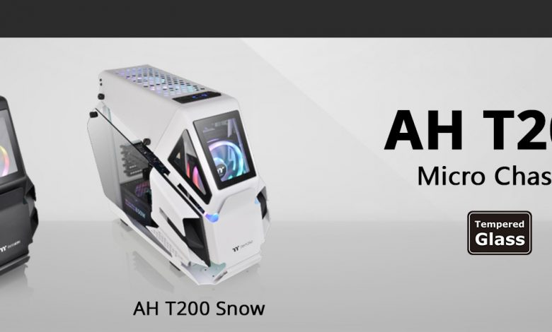 Photo of Thermaltake AH T200: Chasis robusto y en color blanco o negro