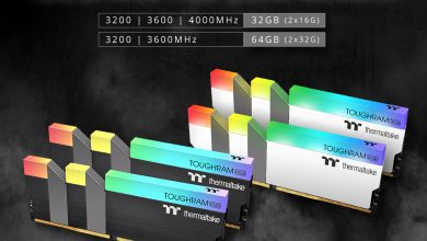 Photo of Thermaltake lanza TOUGHRAM RGB 32 GB y 64 GB con hasta 4000 MHz