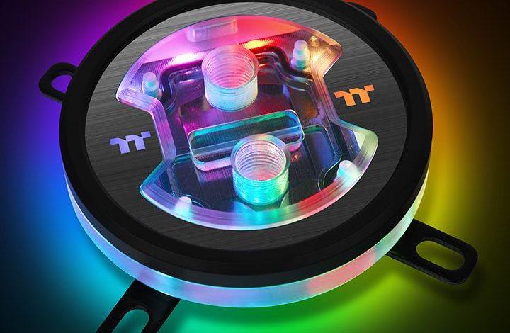Photo of Thermaltake lanza un bloque que cambia de color por temperatura