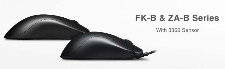 Photo of Zowie FK-B y Zowie ZA-B estrenan sensor PixArt 3360 y nuevo diseño