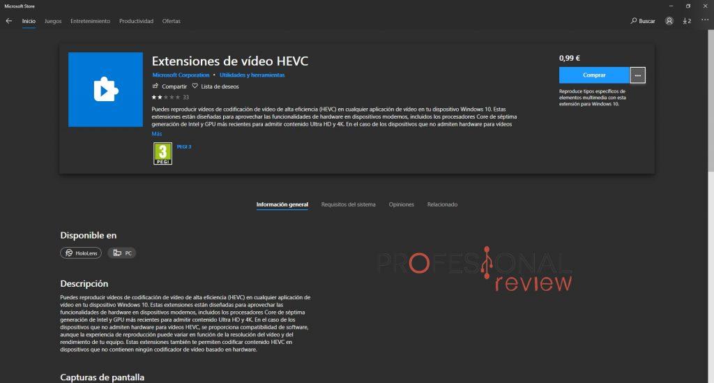 códec HEVC