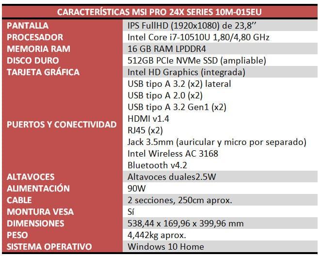MSI Pro 24X Series