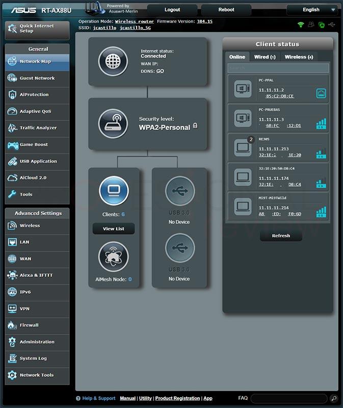 Forzar a conectarte a una red Wifi de 5 GHz paso11