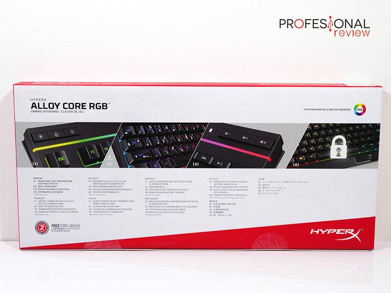 HyperX Alloy Core RGB