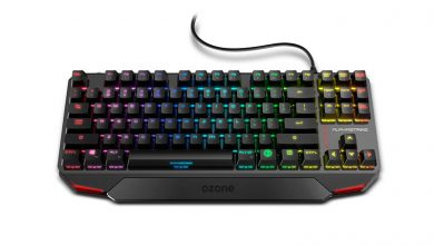 Photo of Ozone Alpha Strike: RGB, TKL, switches Outemu Red y diseño compacto