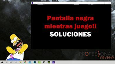 Photo of Pantalla negra mientras juego (Soluciones)