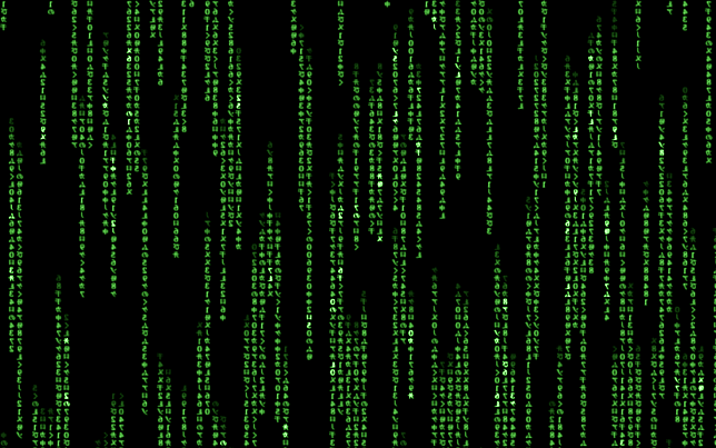 salvapantallas matrix