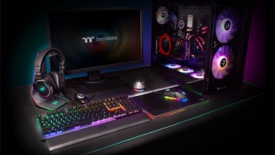 Photo of Thermaltake Argent H5 RGB 7.1 y Argent HS1 RGB Headset Stand
