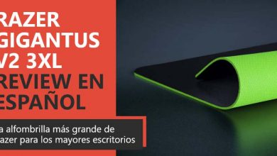 Photo of Razer Gigantus V2 3XL Review en Español (análisis completo)